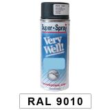 Motip Very Well Akril festék spray, RAL9010, 400 ml