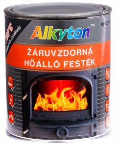 Motip ALKYTON hőálló festék 750 °C-ig, ezüst, 250 ml termék fő termékképe