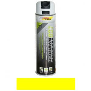Motip COLORMARK ECOMARKER környezetbarát kézi jelölőfesték, fluor sárga, 500 ml termék fő termékképe