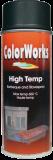 Motip COLORWORKS hőálló festék spray, fekete, 400 ml