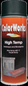 Motip COLORWORKS hőálló festék spray, fekete, 400 ml termék fő termékképe