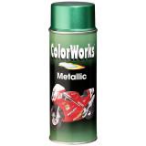 Motip COLORWORKS Metallic akril festék spray, fekete, 400 ml