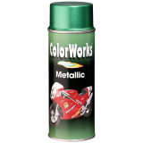 Motip COLORWORKS Metallic akril festék spray, zöld, 400 ml