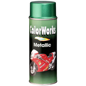 Motip COLORWORKS Metallic akril festék spray, zöld, 400 ml termék fő termékképe