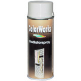 Motip COLORWORKS radiátor szintetikus festék spray (tartós), hófehér, 400 ml