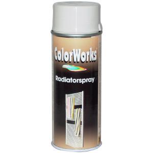 Motip COLORWORKS radiátor szintetikus festék spray (tartós), hófehér, 400 ml termék fő termékképe