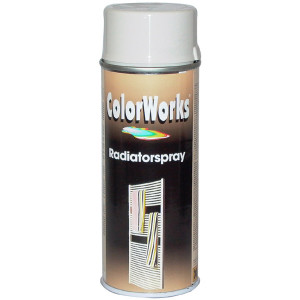 Motip COLORWORKS radiátor szintetikus festék spray (tartós), cukor fehér, 400 ml termék fő termékképe