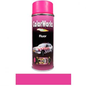 Motip COLOR WORKS fluoreszkáló festék spray, rózsaszín, 400 ml termék fő termékképe