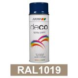 Motip DECO szintetikus festék spray, RAL1019, 400 ml