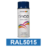 Motip DECO szintetikus festék spray, RAL5015, 400 ml