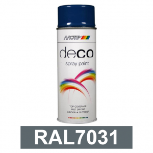 Motip DECO szintetikus festék spray, RAL7031, 400 ml termék fő termékképe