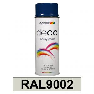 Motip DECO szintetikus festék spray, RAL9002, 400 ml termék fő termékképe