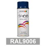Motip DECO szintetikus festék spray, RAL9006, 400 ml