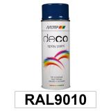 Motip DECO szintetikus festék spray, RAL9010 (matt fehér), 400 ml
