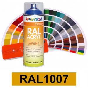 Motip DUPLI COLOR ipari festék spray, RAL1007, 400 ml termék fő termékképe