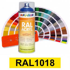 Motip DUPLI COLOR ipari festék spray, RAL1018, 400 ml termék fő termékképe