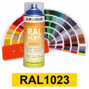 Motip DUPLI COLOR ipari festék spray, RAL1023, 400 ml termék fő termékképe