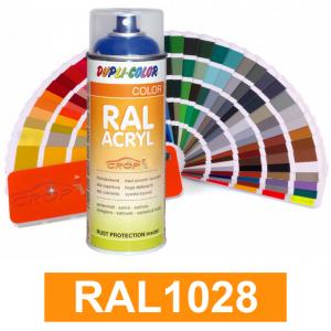 Motip DUPLI COLOR ipari festék spray, RAL1028, 400 ml termék fő termékképe