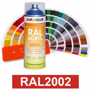 Motip DUPLI COLOR ipari festék spray, RAL2002, 400 ml termék fő termékképe