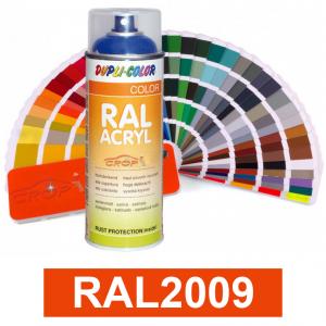 Motip DUPLI COLOR ipari festék spray, RAL2009, 400 ml termék fő termékképe