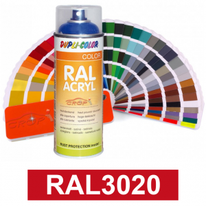 Motip DUPLI COLOR ipari festék spray, RAL3020, 400 ml termék fő termékképe