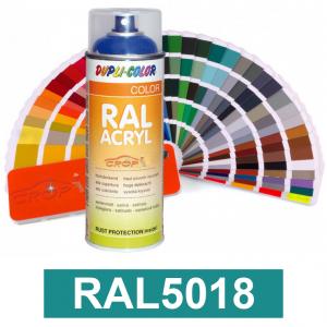 Motip DUPLI COLOR ipari festék spray, RAL5018, 400 ml termék fő termékképe
