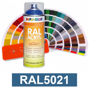 Motip DUPLI COLOR ipari festék spray, RAL5021, 400 ml termék fő termékképe