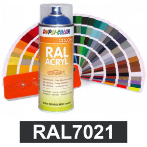 Motip DUPLI COLOR ipari festék spray, RAL7021, 400 ml termék fő termékképe