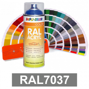 Motip DUPLI COLOR ipari festék spray, RAL7037, 400 ml termék fő termékképe