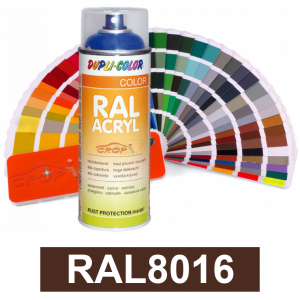Motip DUPLI COLOR ipari festék spray, RAL8016, 400 ml termék fő termékképe