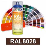 Motip DUPLI COLOR ipari festék spray, RAL8028, 400 ml