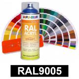 Motip DUPLI COLOR ipari festék spray, RAL9005 (mély fekete), 400 ml