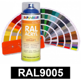 Motip DUPLI COLOR ipari festék spray, RAL9005 (selyemfényű fekete), 400 ml