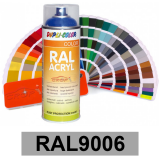 Motip DUPLI COLOR ipari festék spray, RAL9006, 400 ml