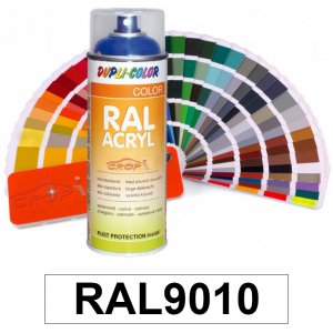 Motip DUPLI COLOR ipari festék spray, RAL9010 (tiszta fehér), 400 ml termék fő termékképe