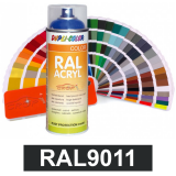 Motip DUPLI COLOR ipari festék spray, RAL9011, 400 ml