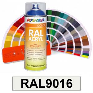 Motip DUPLI COLOR ipari festék spray, RAL9016, 400 ml termék fő termékképe