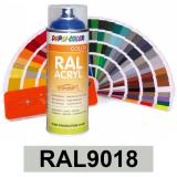 Motip DUPLI COLOR ipari festék spray, RAL9018, 400 ml