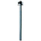 FIS A cinkkel galvanizált acél (5.8) menetes szárak