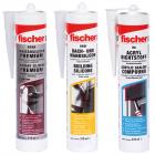 Fischer szaniter-, univerzális és építő szilikonok, tömítőanyagok