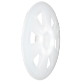 HK 36 műanyag szigetelésrögzítő tányér, 100 db