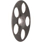 HV 36 cink szigetelésrögzítő tányér, 100 db