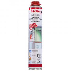 Fischer PUFS B1 750 nehezen gyulladó pisztolyhab, betonszürke, 750 ml termék fő termékképe