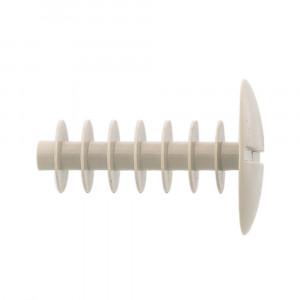 Fischer AD 12 x 40 G fedősapka, szürke, 100db/csomag termék fő termékképe