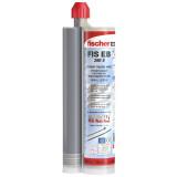 Fischer FIS EB 390 S standard epoxy injektáló ragasztó betonba rögzítéshez, 390 ml, 2 db FIS keverőszárral