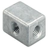 Fischer MW M8 szerelőkocka,50db/csomag