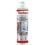 Fischer PUP 500 G B2 egykomponensű pisztolyhab, szürke, 500 ml