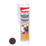 Fischer DBSA építőszilikon, 310 ml barna