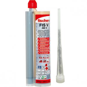 FIS V 360 S injektáló ragasztó, 360 ml 2 db FIS keverőszárral termék fő termékképe