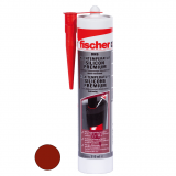 Fischer DHS nagyhőmérsékletű szilikon, vöröses barna 310 ml